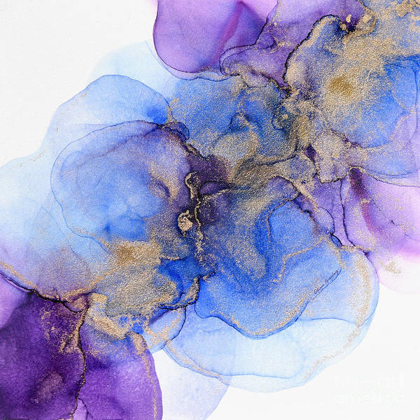 Painting - Blue Florals by Alissa Beth Photography