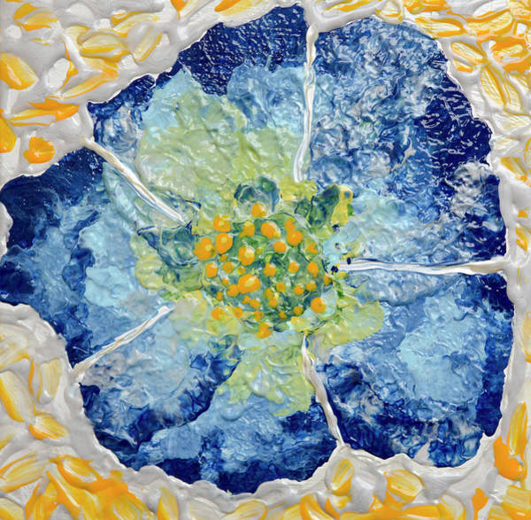 Mfa Wall Art - Photograph - Blue Flower Wind  by Iris Richardson