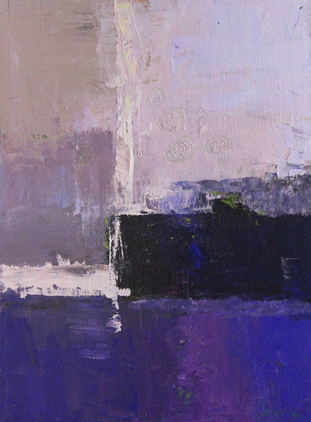 Ultramarine Blue Painting - Blue Harbor by Nancy Merkle