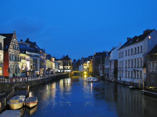 Belgium Photograph - Blue Hour by By Johnny Cooman, Belgium.