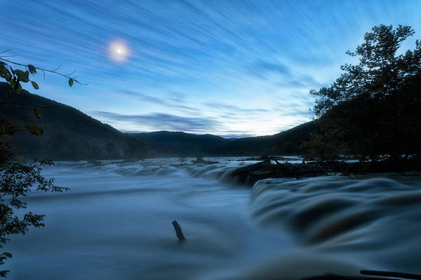 Photograph - Blue Hour by Russell Pugh