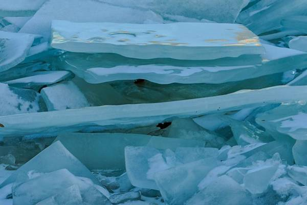 Photograph - Blue Ice by Susan Rydberg