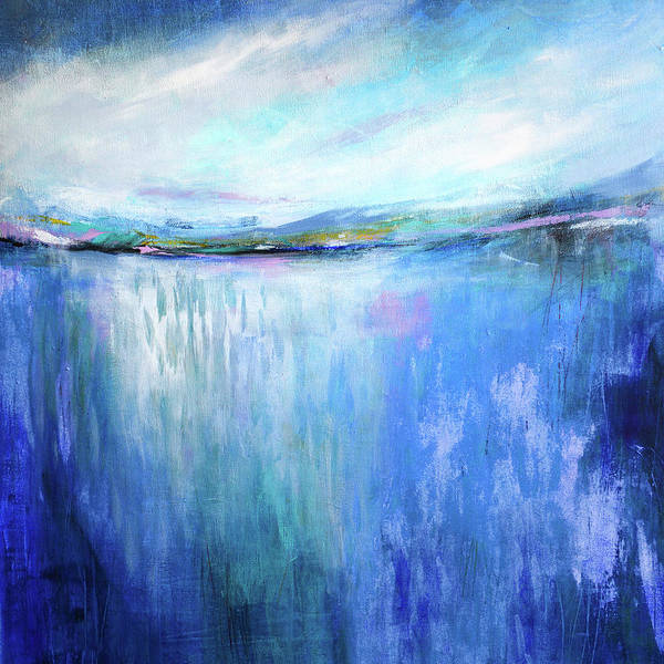 Painting - Blue Landscape by Tracy-Ann Marrison