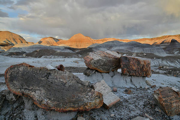Photograph - Blue Mesa Sunset Clouds by Ray Mathis