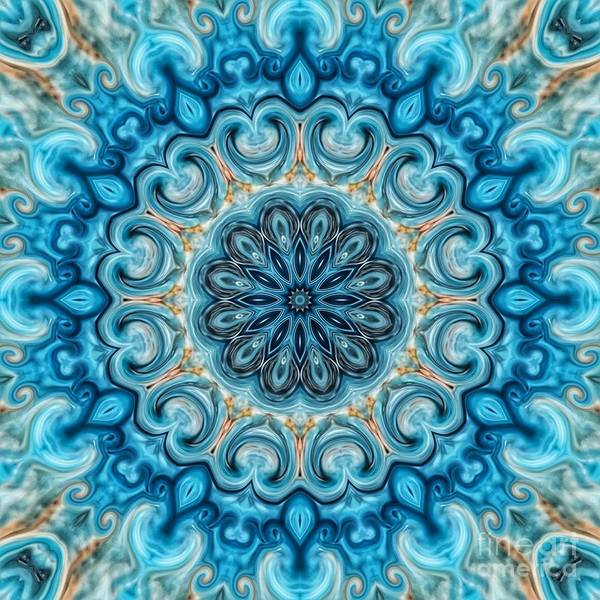 Digital Art - Blue Monday by Rachel Hannah