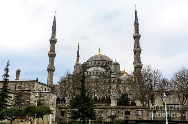 Turkiye Wall Art - Photograph - Blue Mosque In Istanbul by John Rizzuto