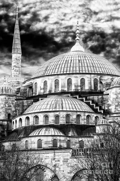 Turkiye Wall Art - Photograph - Blue Mosque Majesty In Istanbul by John Rizzuto