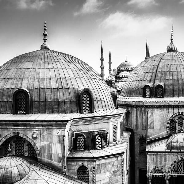 East Asia Wall Art - Photograph - Blue Mosque Or Sultan Ahmed Mosque by Matej Kastelic