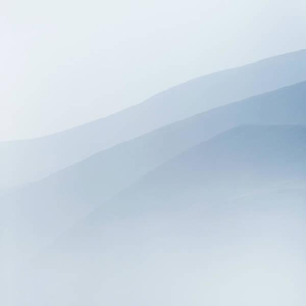 Shades Of Blue Wall Art - Photograph - Blue Mountains by Anita Nicholson
