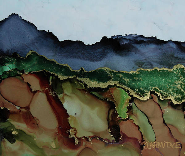 Painting - Blue Mountains I by Jenny Armitage