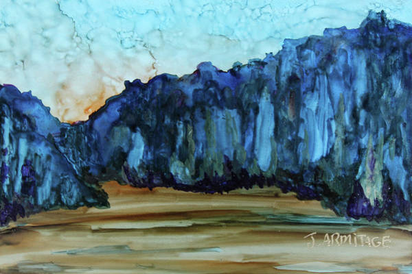 Wall Art - Painting - Blue Mountains II by Jenny Armitage