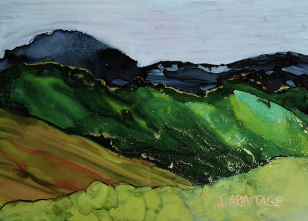 Painting - Blue Mountains IIi by Jenny Armitage