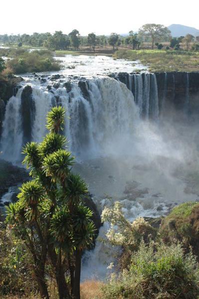Blue Photograph - Blue Nile Falls, Ethiopia by Christophe cerisier