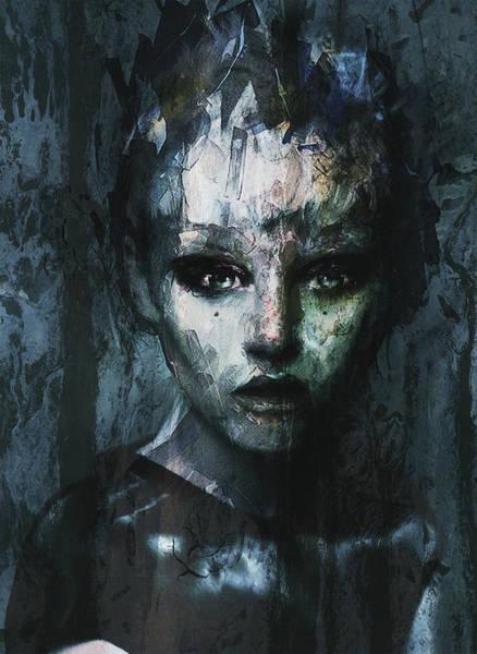 New Trend Digital Art - Blue Ombre  by Dominique Ballada