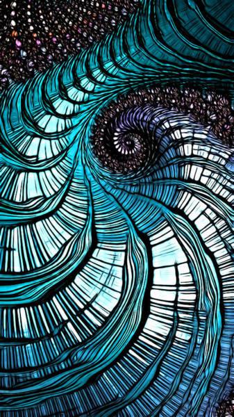 Digital Art - Blue Ox by Jeff Iverson