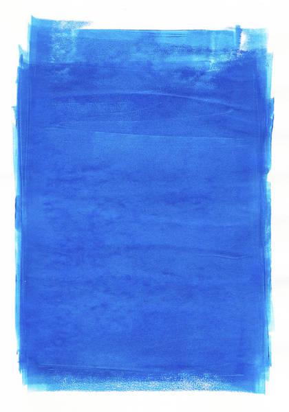 Cut-out Digital Art - Blue Paint by Mustafahacalaki