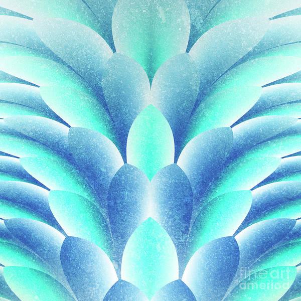 blue Petals Art Print