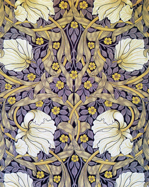 Wall Art - Painting - Blue Pimpernel - Digital Remastered Edition by William Morris