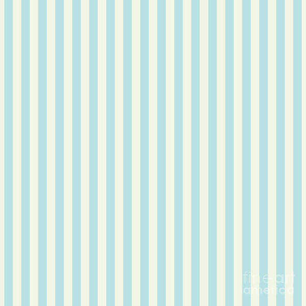 Photograph - Blue Plume Stripe  by Sharon Mau