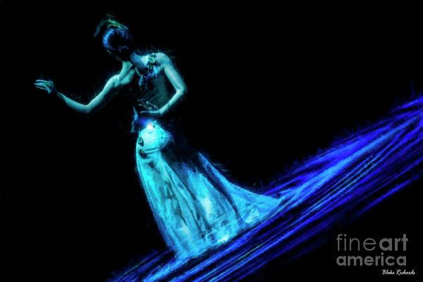 Photograph - Blue Pond Beauty by Blake Richards