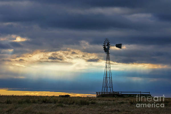 Photograph - Blue Prairie by Jim Garrison