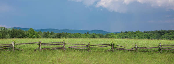 Photograph - Blue Ridge Fence by Patrick M Lynch