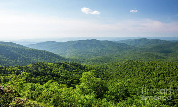 Photograph - Blue Ridge Mountain Overlook In North Carolina by Kevin McCarthy