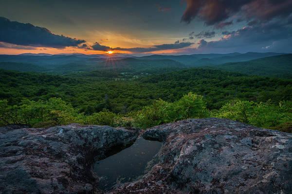 Wall Art - Photograph - Blue Ridge Mountain Sunset by Mike Koenig
