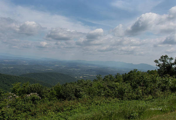 Wall Art - Photograph - Blue Ridge Mountain Views II by Suzanne Gaff