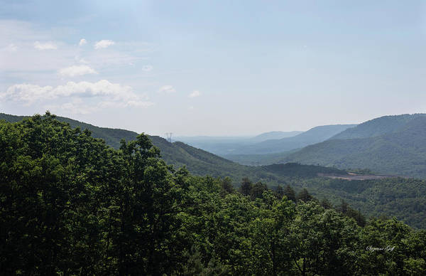 Wall Art - Photograph - Blue Ridge Mountain Views IIi by Suzanne Gaff