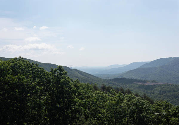 Wall Art - Photograph - Blue Ridge Mountain Views by Suzanne Gaff