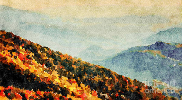 Wall Art - Photograph - Blue Ridge Mountains by DiFigiano Photography