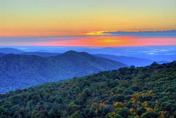 Shenandoah Wall Art - Photograph - Blue Ridge Mountains by Nikographer [jon]