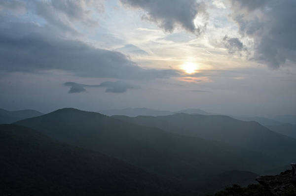 Photograph - Blue Ridge Parkway Sunset by Claire Turner