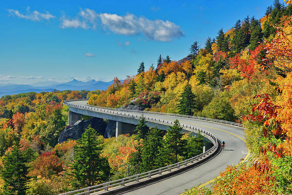 Photograph - Blue Ridge Parkway Viaduct by Meta Gatschenberger