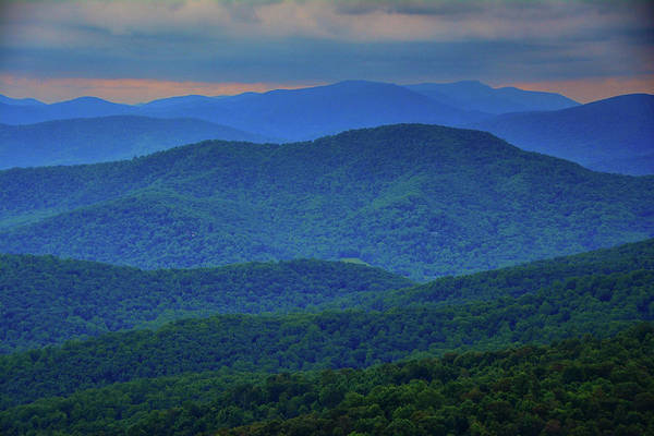 Photograph - Blue Ridges Of Virginia by Raymond Salani III