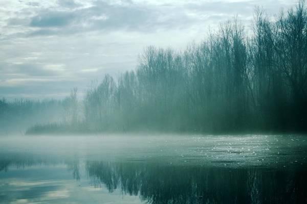 Photograph - Blue River Mist by Art Shack