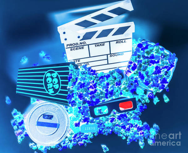 Film Industry Wall Art - Photograph - Blue Screen Entertainment by Jorgo Photography - Wall Art Gallery