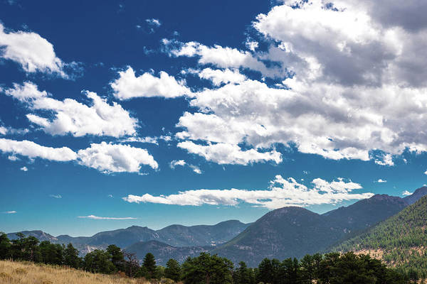 Photograph - Blue Skies And Mountains II by James L Bartlett