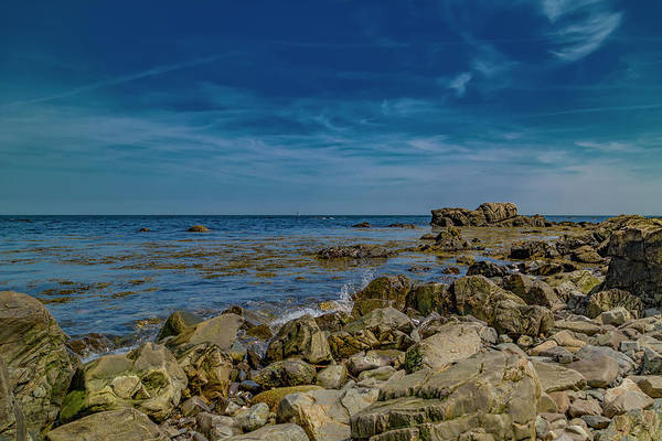 Kennebunkport Maine Photograph - Blue Skies In Kennebunkport by Betsy Knapp