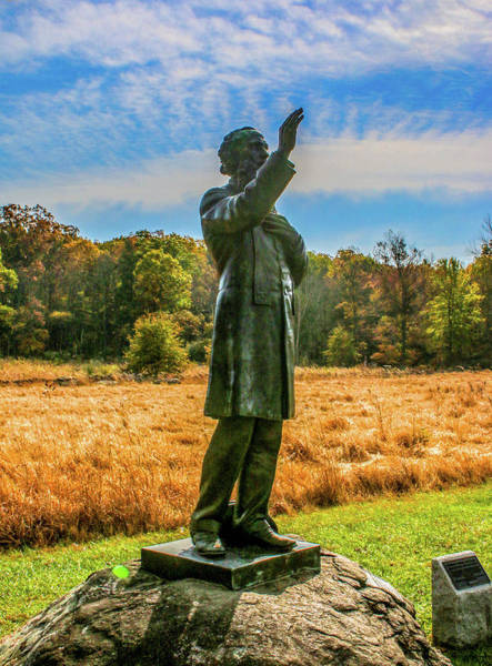 Wall Art - Photograph - Blue Skies Reverend Father William Corby by William Rogers
