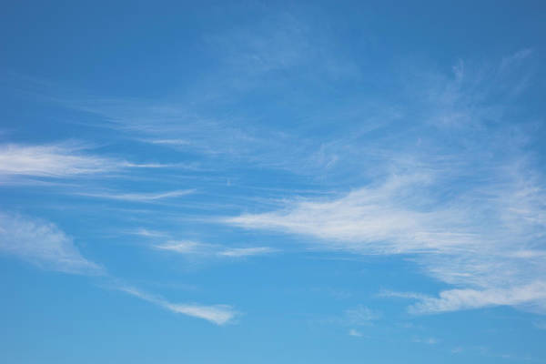 Cloud Photograph - Blue Sky And Clouds by Ron thomas