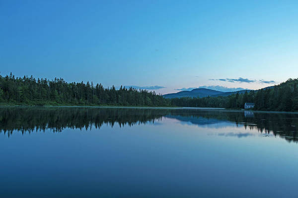 Photograph - Blue Sky On Beaver Pond Rangeley Maine by Toby McGuire