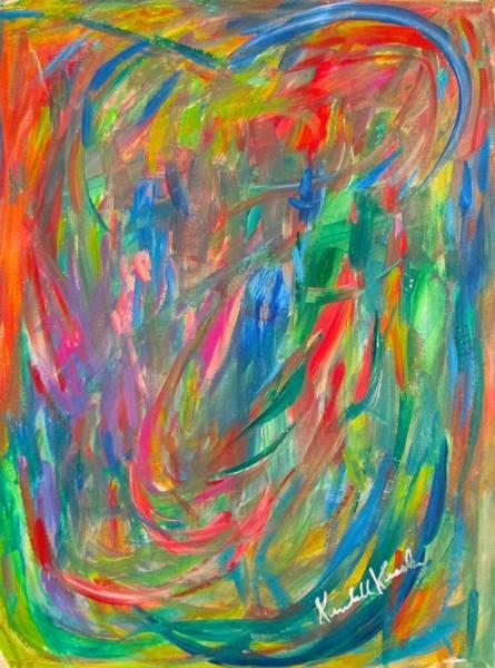 Painting - Blue Streak by Kendall Kessler