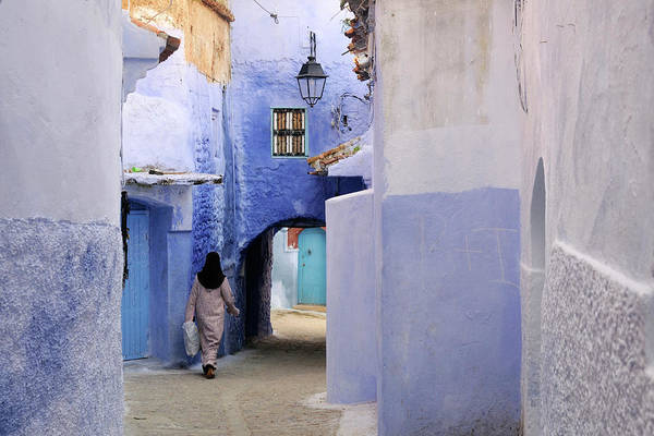 Wall Art - Photograph - Blue Street by Ania Blazejewska