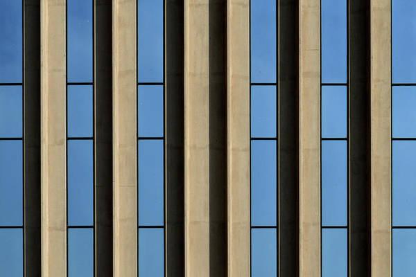 Photograph - Blue Stripes by Stuart Allen