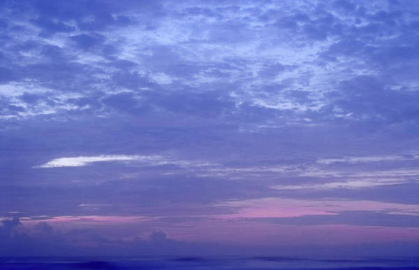Photograph - Blue Sunrise by Rudy Umans