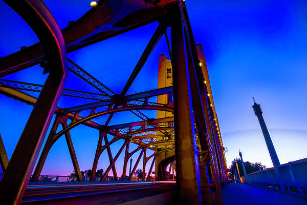 Photograph - Blue Sunset by JD Mims