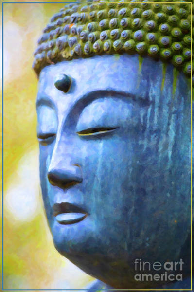 Wall Art - Photograph - Blue Tone Buddha by Tim Gainey
