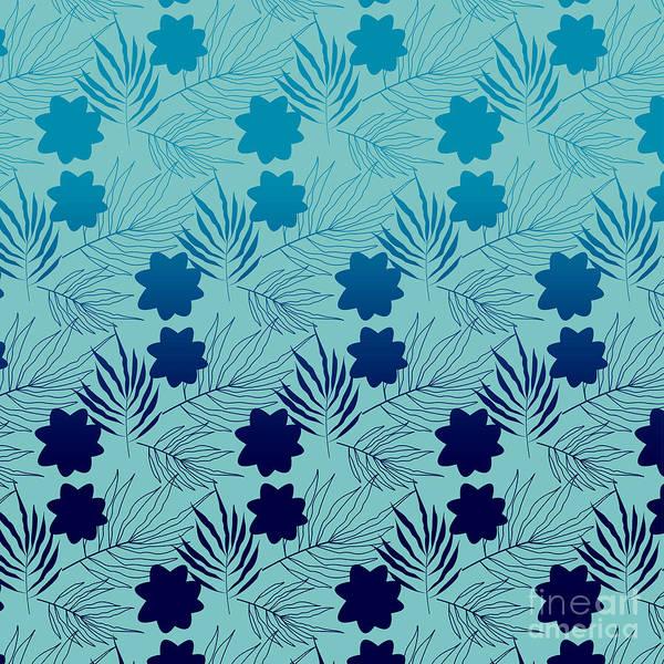 Digital Art - Blue Topaz by Sharon Mau